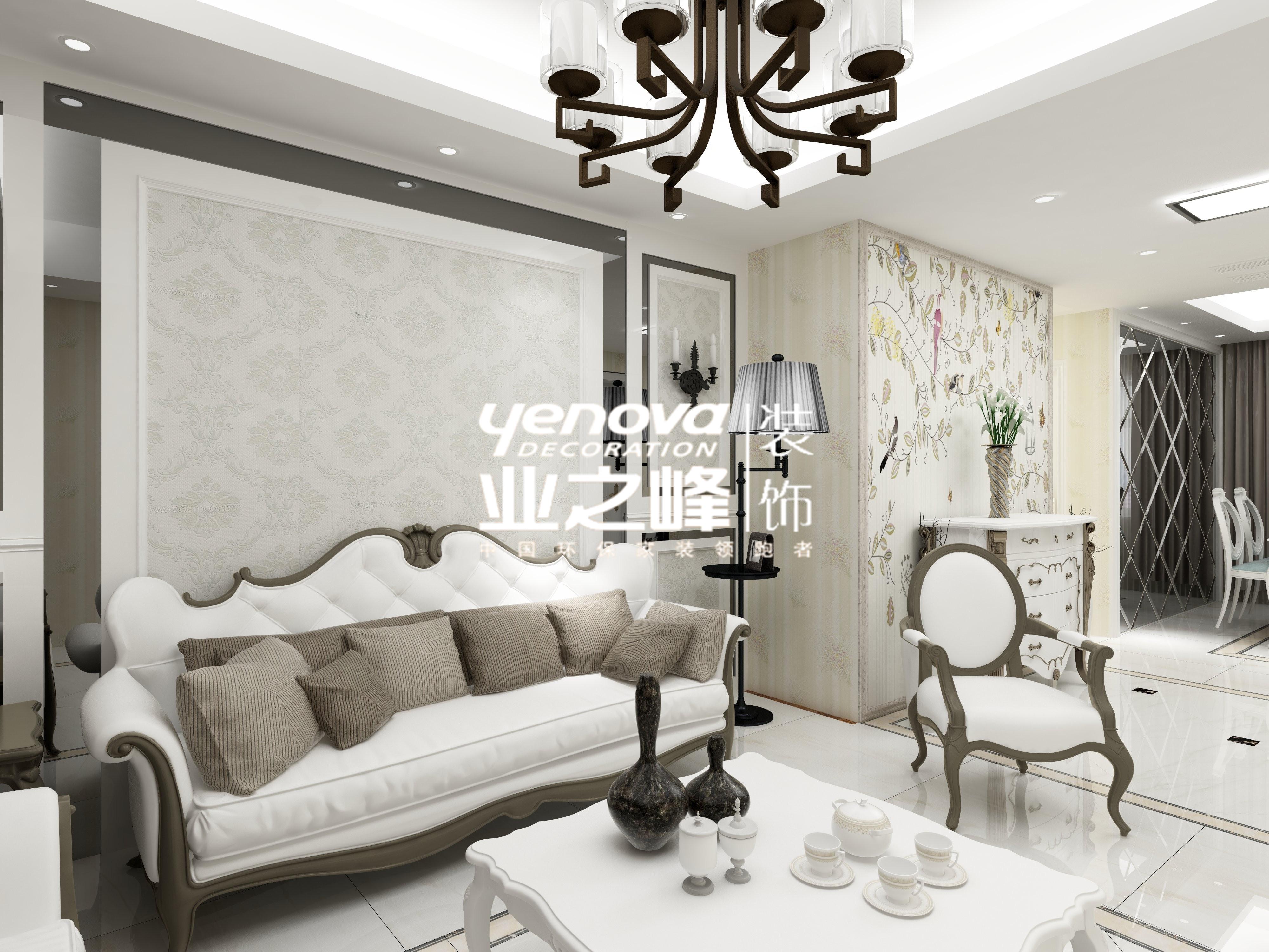 紫薇村欧式风格装修效果图实景图