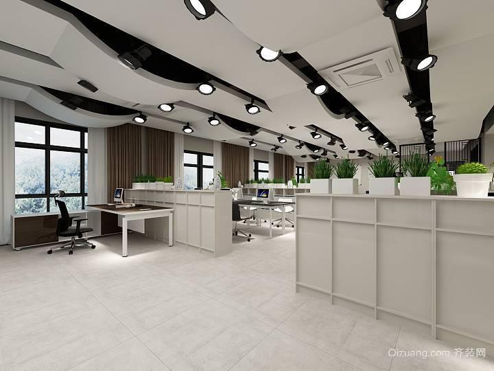 恒安大厦现代简约装修效果图实景图