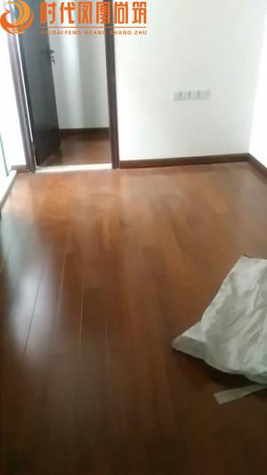 凯德城脉 周姐 铺木地板