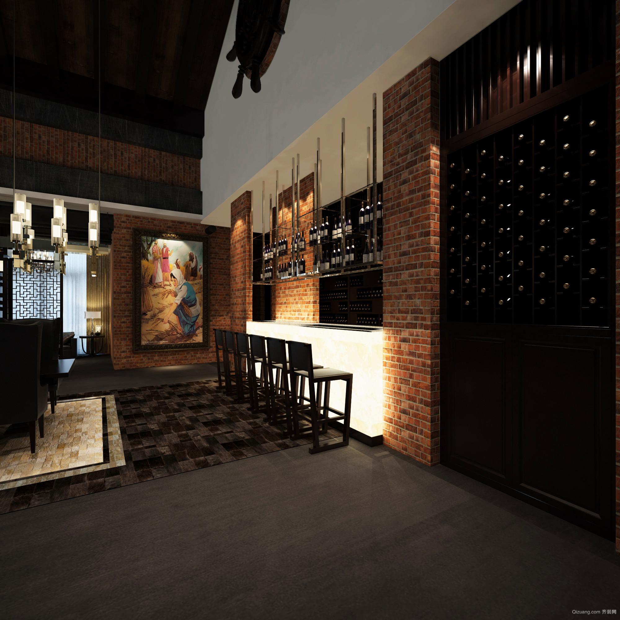私人酒庄混搭风格装修效果图实景图