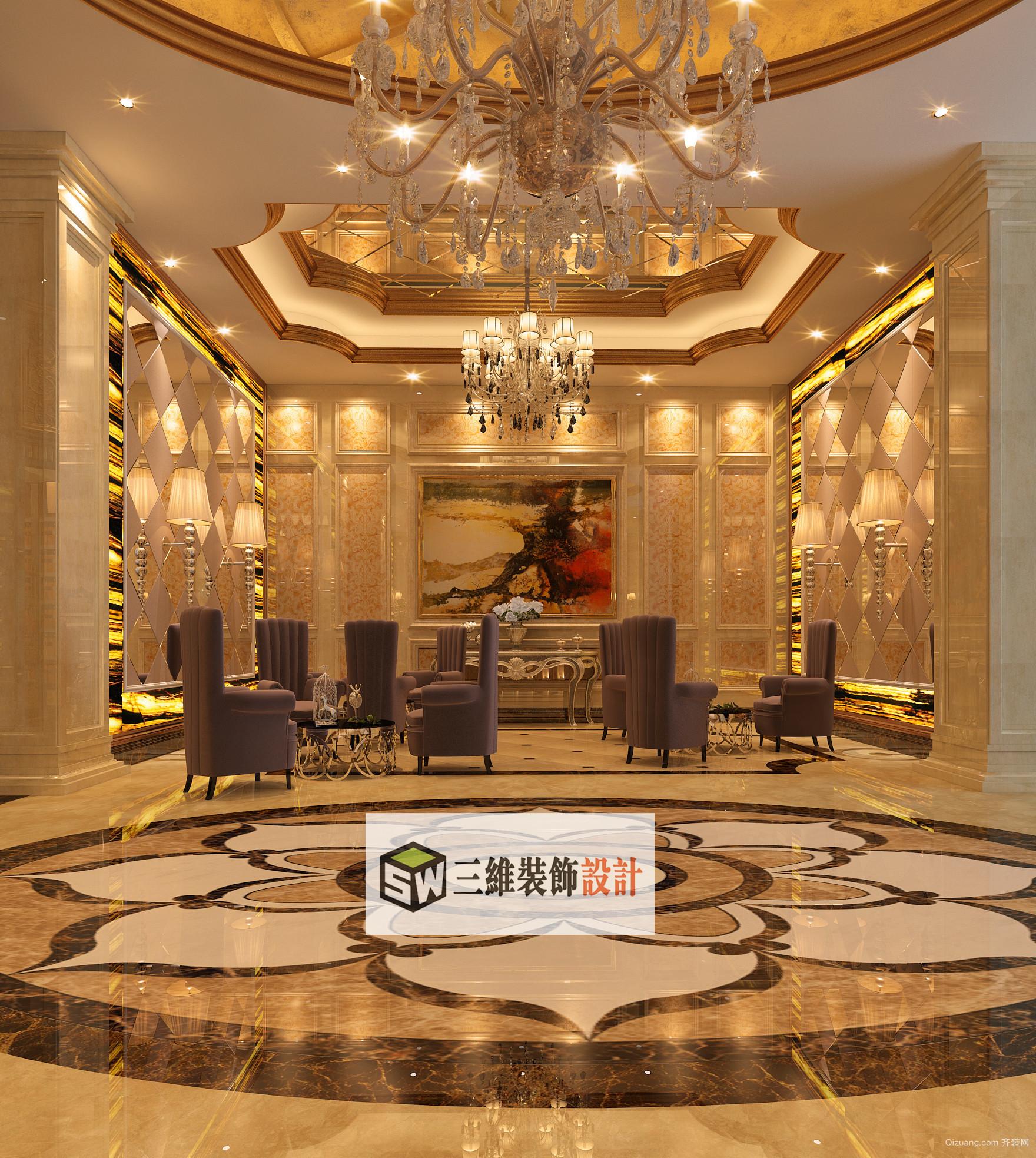 禹州市欧式风格装修效果图实景图
