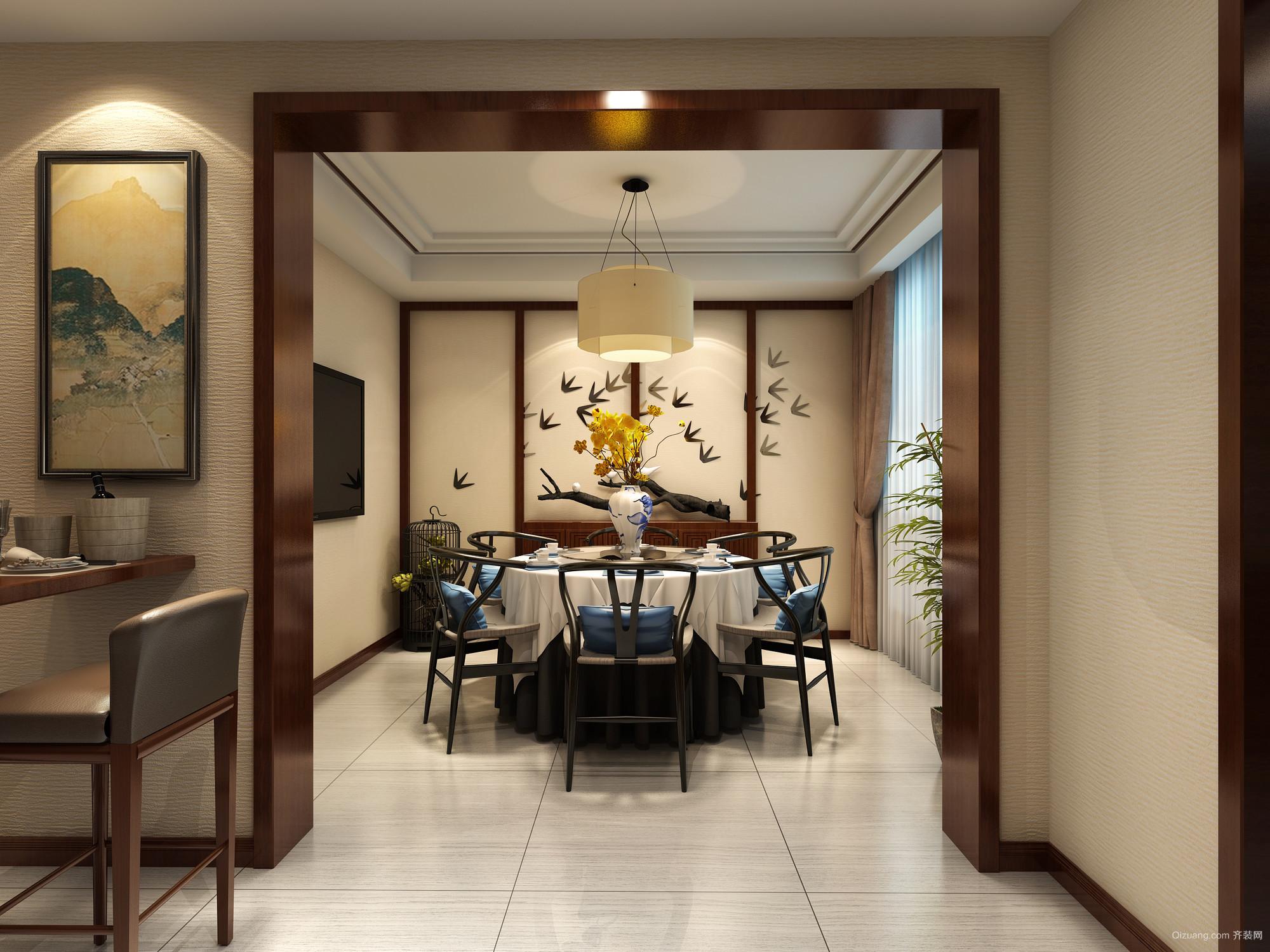 中南大3期15-401美式风格装修效果图实景图