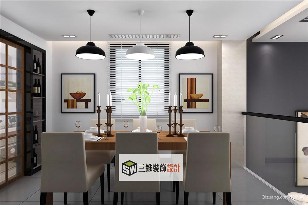 金石·东方明珠花园现代简约装修效果图实景图