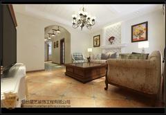 [星艺装饰]马尔贝拉中式风格别墅装修