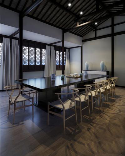 六合会议室装修设计案例