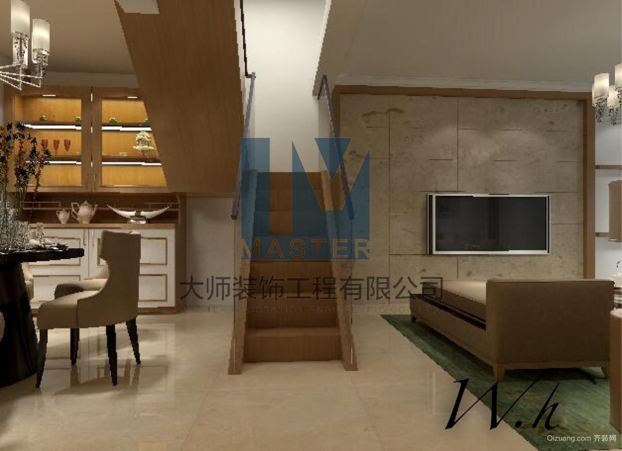 阳光城翡丽湾现代简约装修效果图实景图