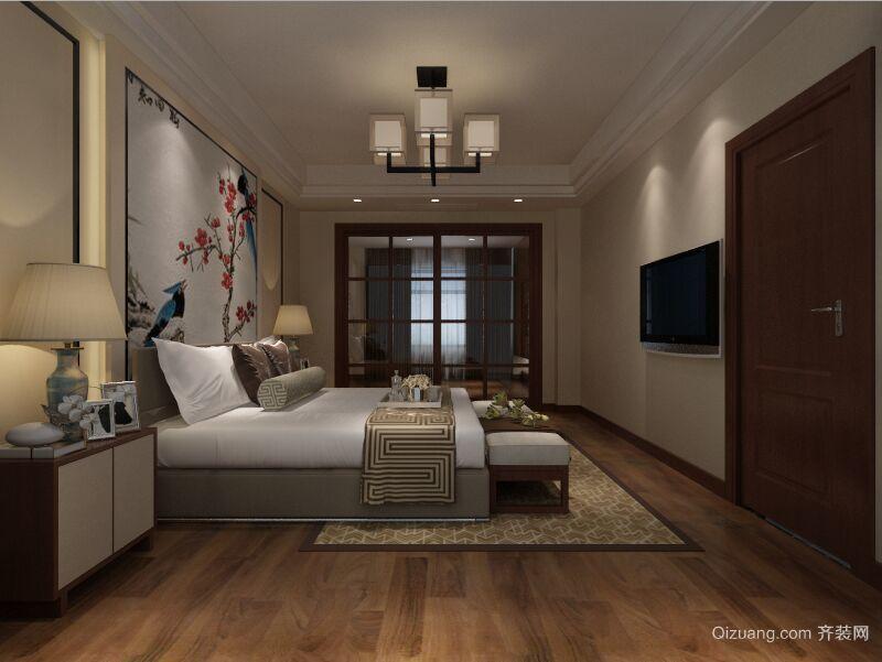中南锦园中式风格装修效果图实景图