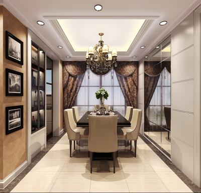 中山恩平样板房装修设计案例