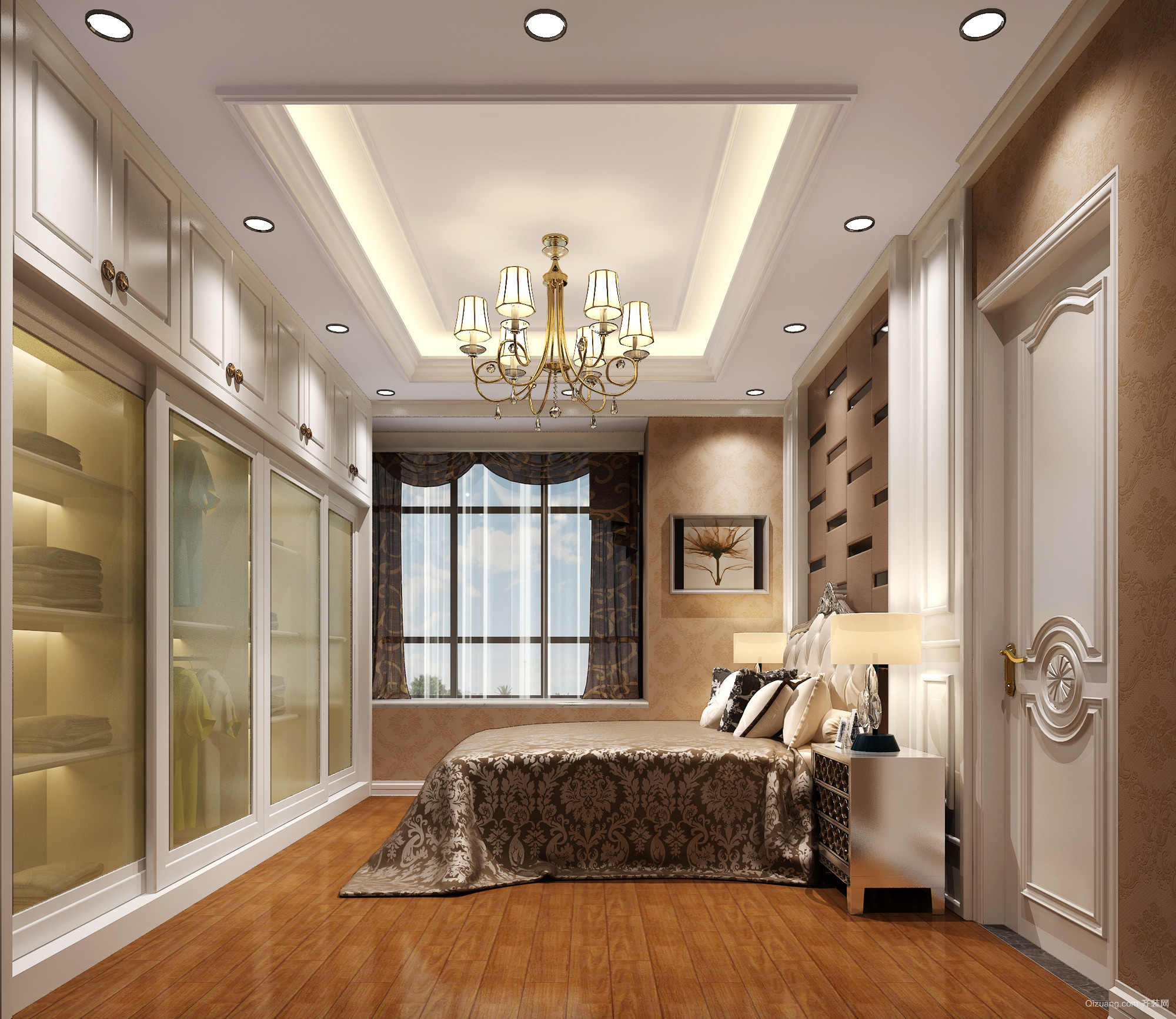 恩平样板房现代简约装修效果图实景图