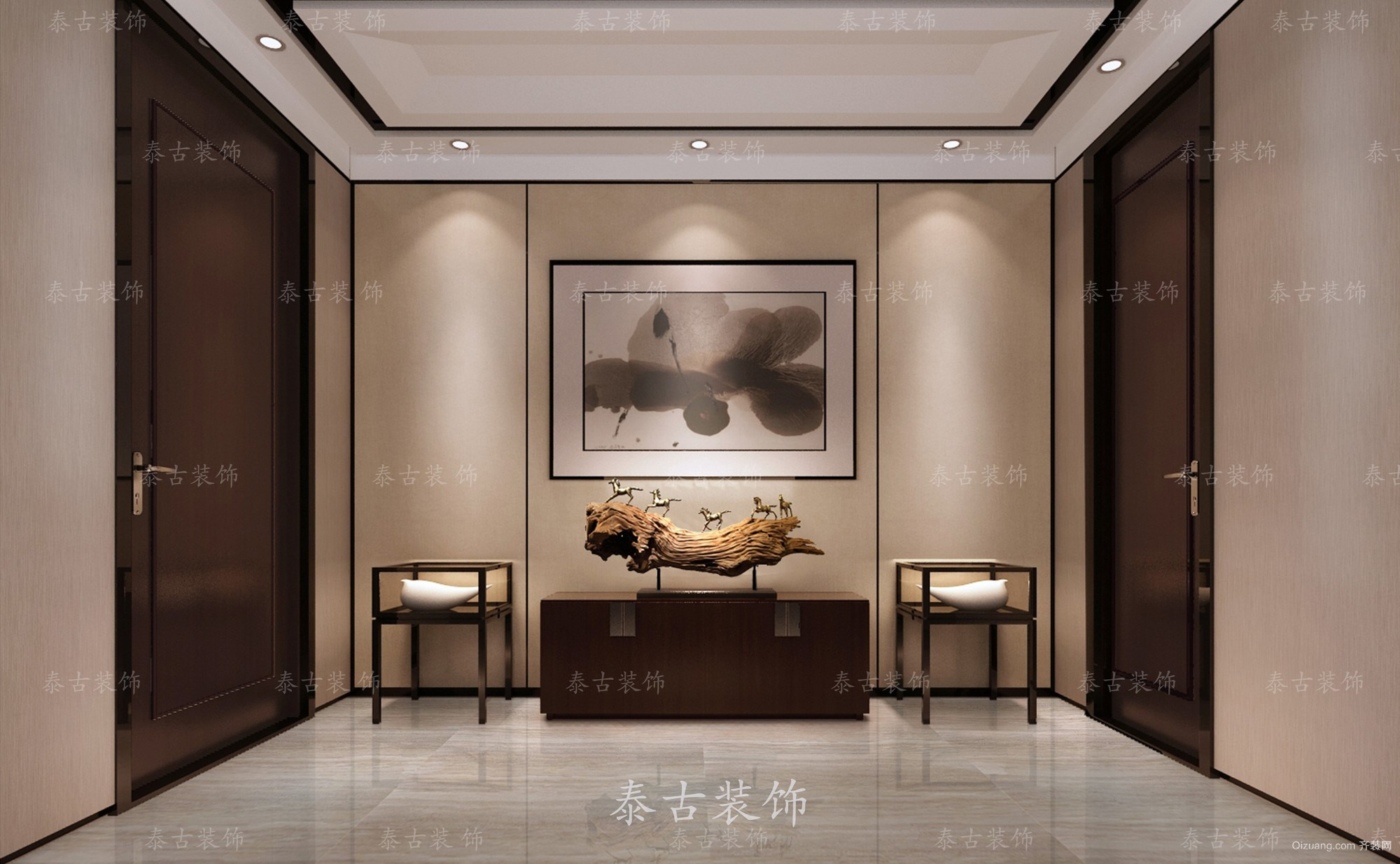 香樟别墅现代简约装修效果图实景图