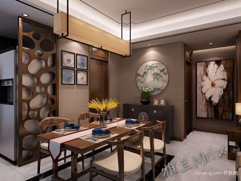 东洲半岛中式风格装修效果图实景图