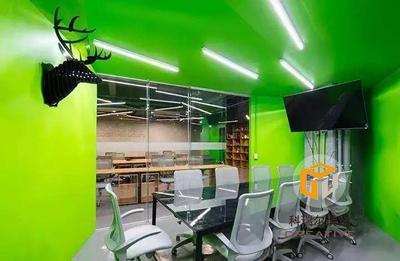 青岛办公楼装修设计案例