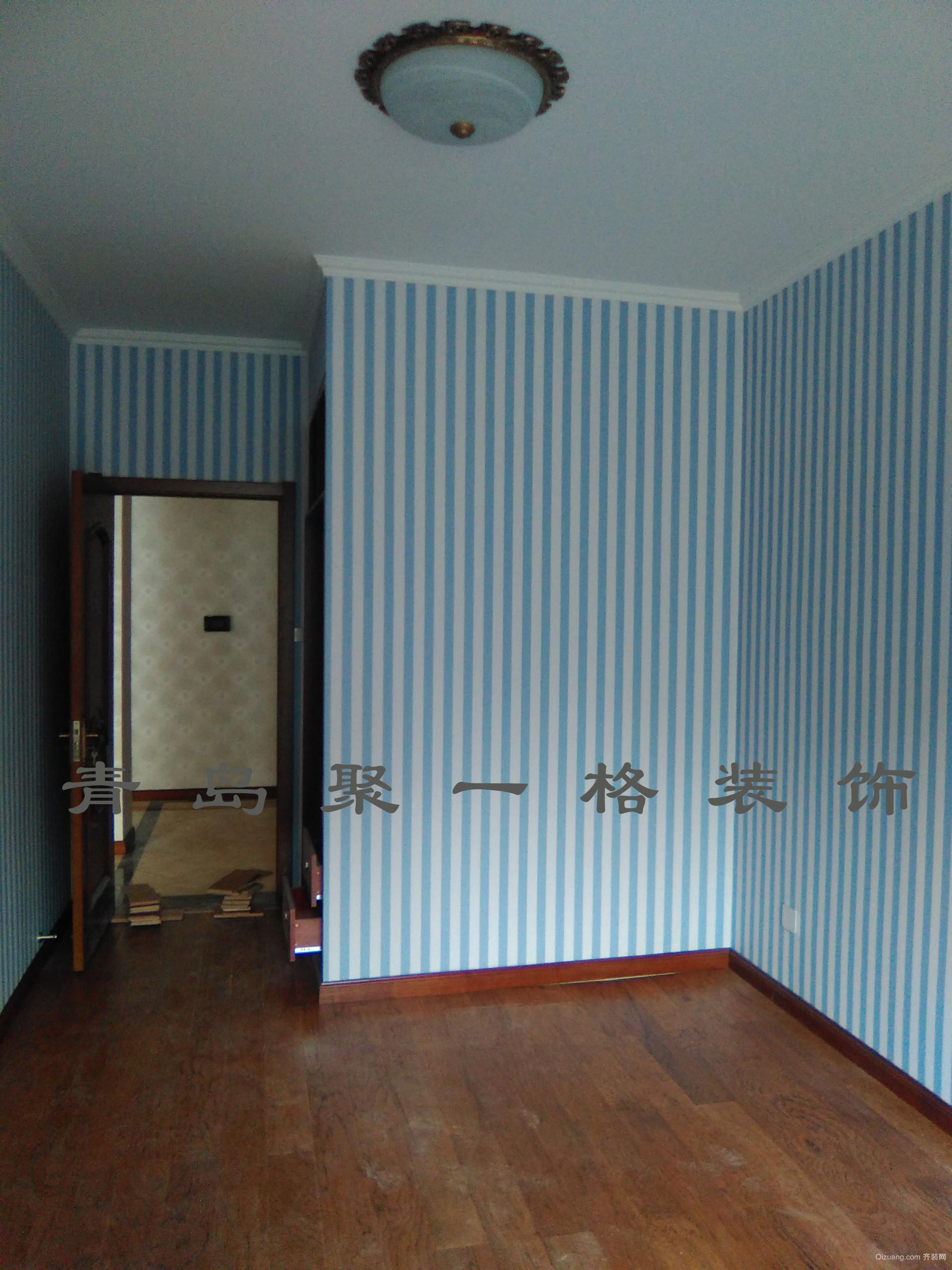 青特洋房美式风格装修效果图实景图