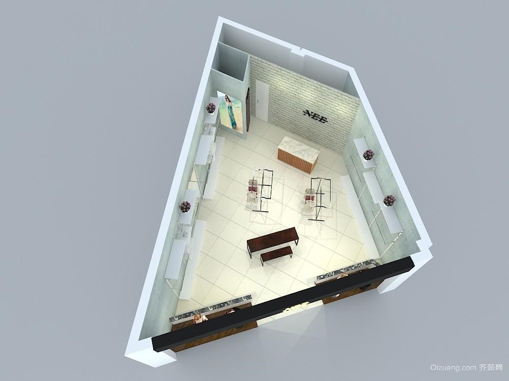 亚龙湾NEE专卖店欧式风格装修效果图实景图