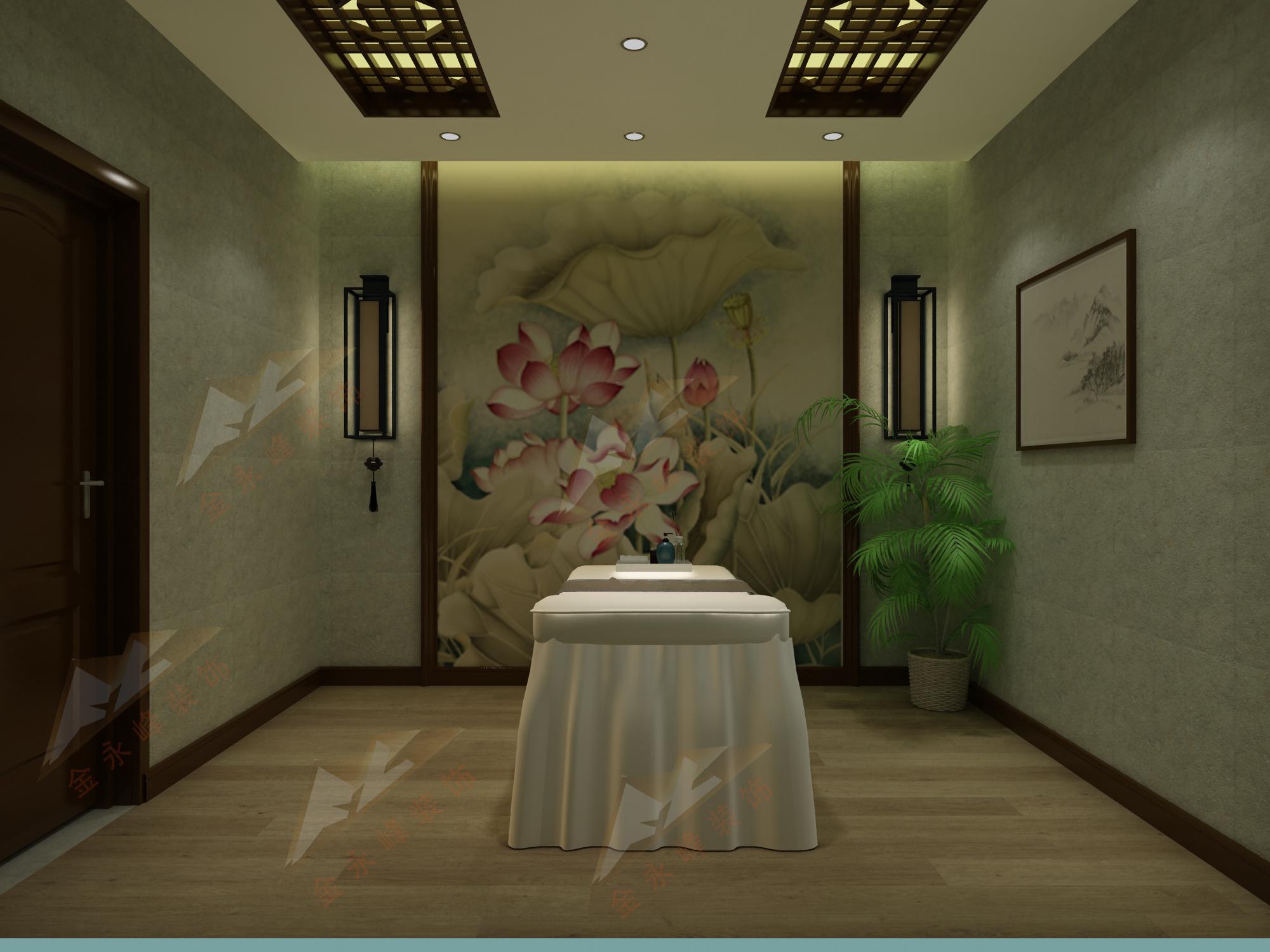 中医馆现代简约装修效果图实景图