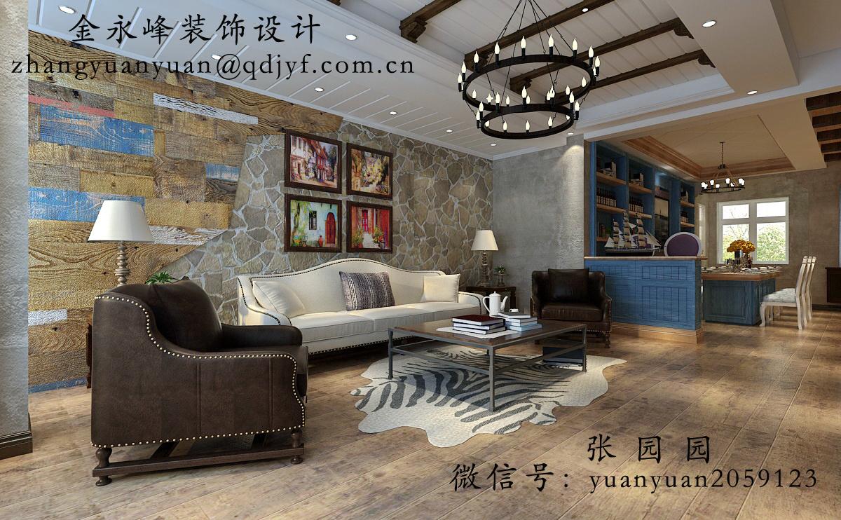 龙湖原山别墅现代简约装修效果图实景图