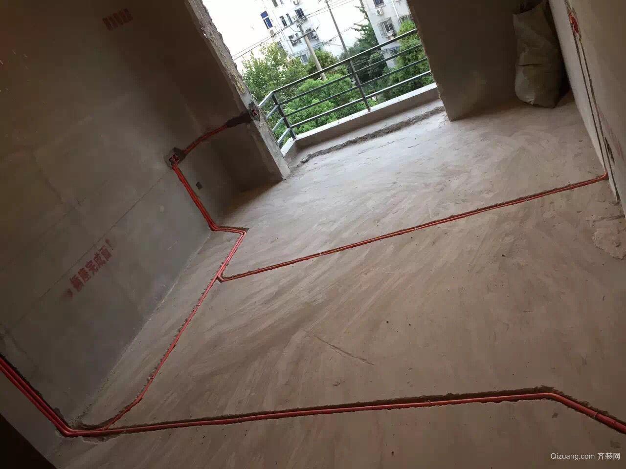世贸公寓美式风格装修效果图实景图