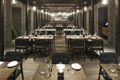 绍兴餐厅装修设计案例