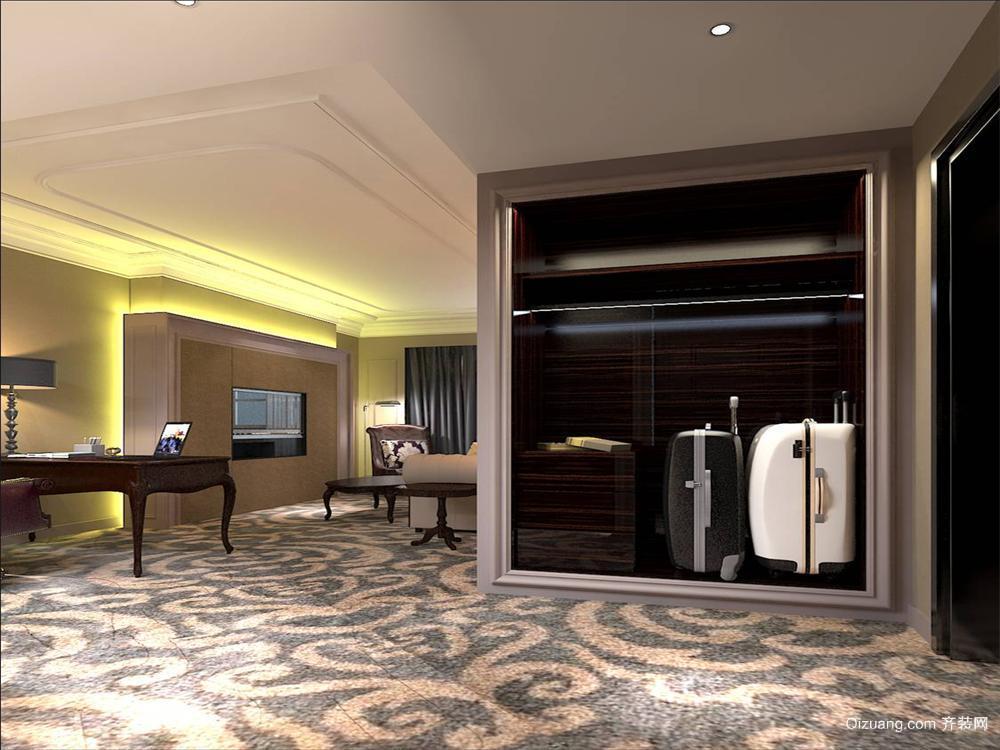 精品酒店现代简约装修效果图实景图