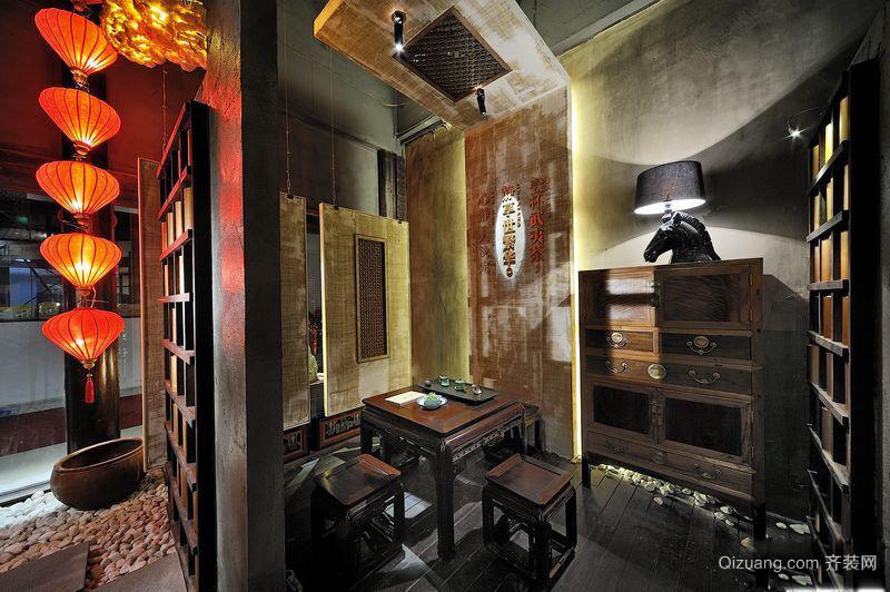 创联装饰-平江路小茶馆古典风格装修效果图实景图