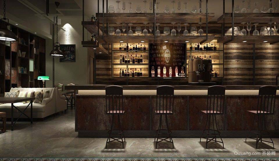 咖啡厅古典风格装修效果图实景图
