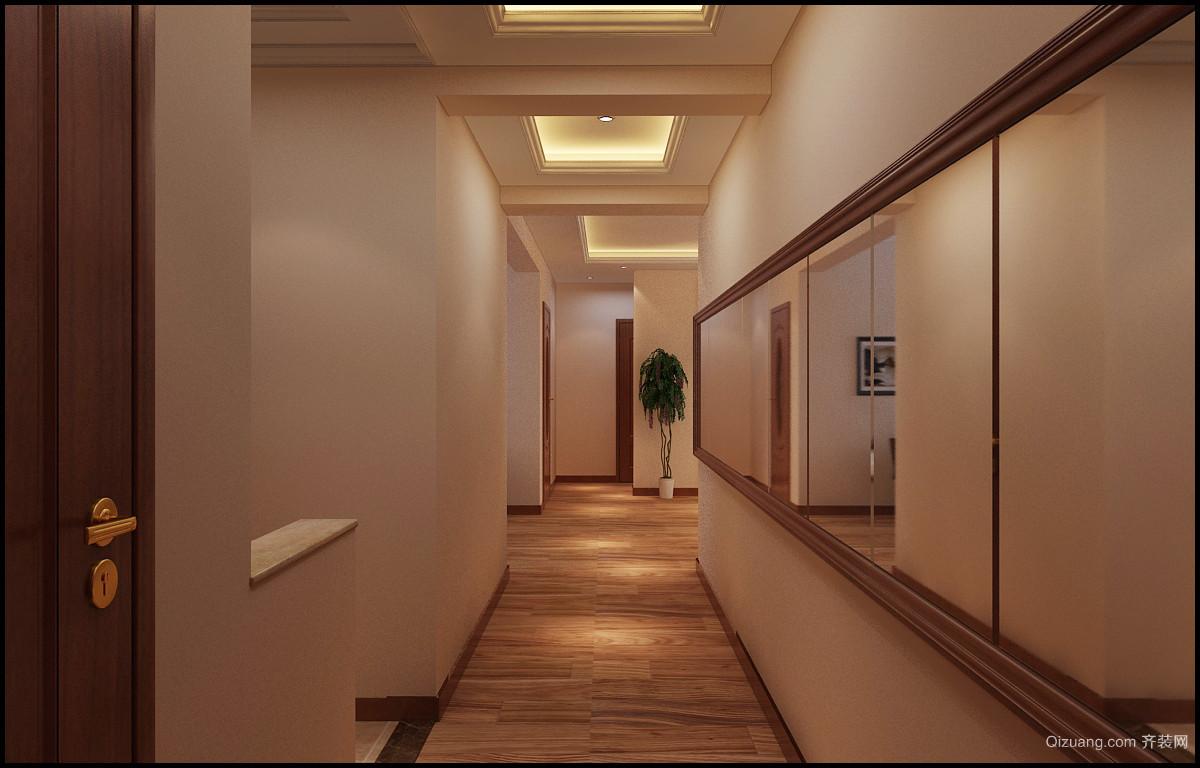 绿岛印象现代简约装修效果图实景图