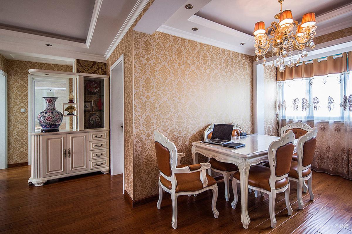 平型关路嘉利明珠城欧式风格装修效果图实景图