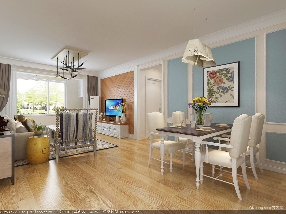 金泽国际人才公寓项目欧式风格装修效果图实景图