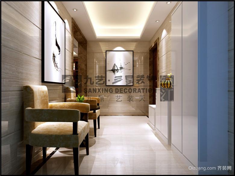 江南府邸中式风格装修效果图实景图