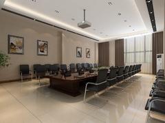 现代简约-局会议室
