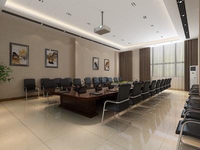 新乡局会议室装修设计案例