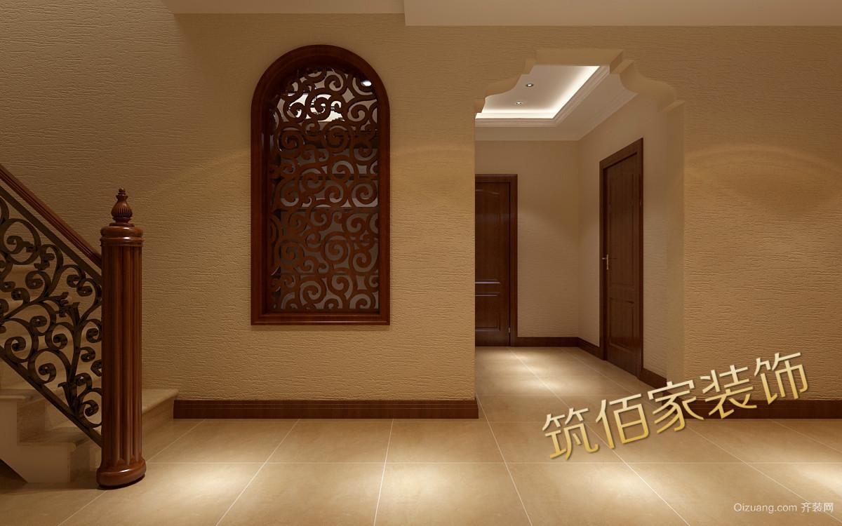 香港路古典风格装修效果图实景图