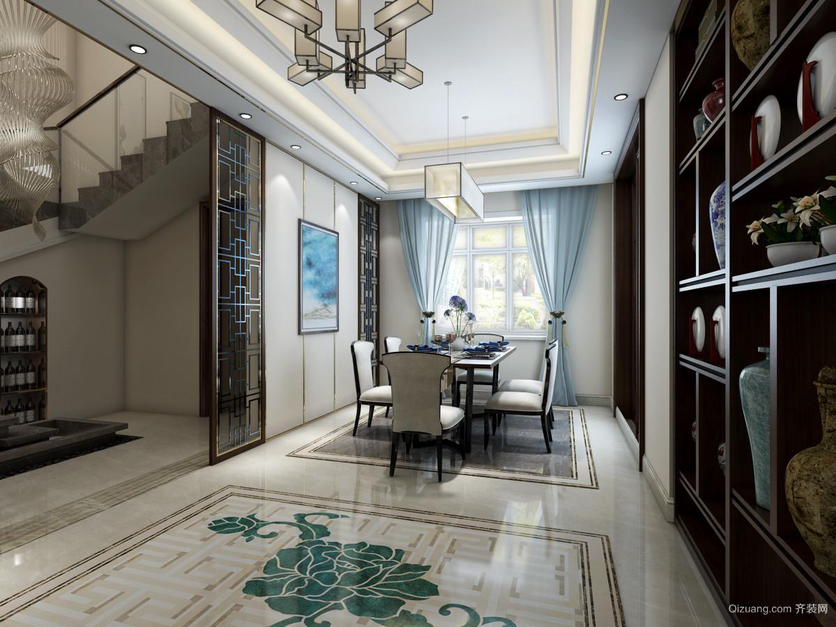 独立别墅中式风格装修效果图实景图