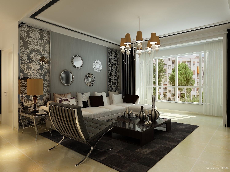 120平米普通家装现代简约前景装修户型v家装-邢建筑设计图片行业知乎图片