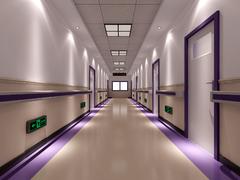新海医院过道