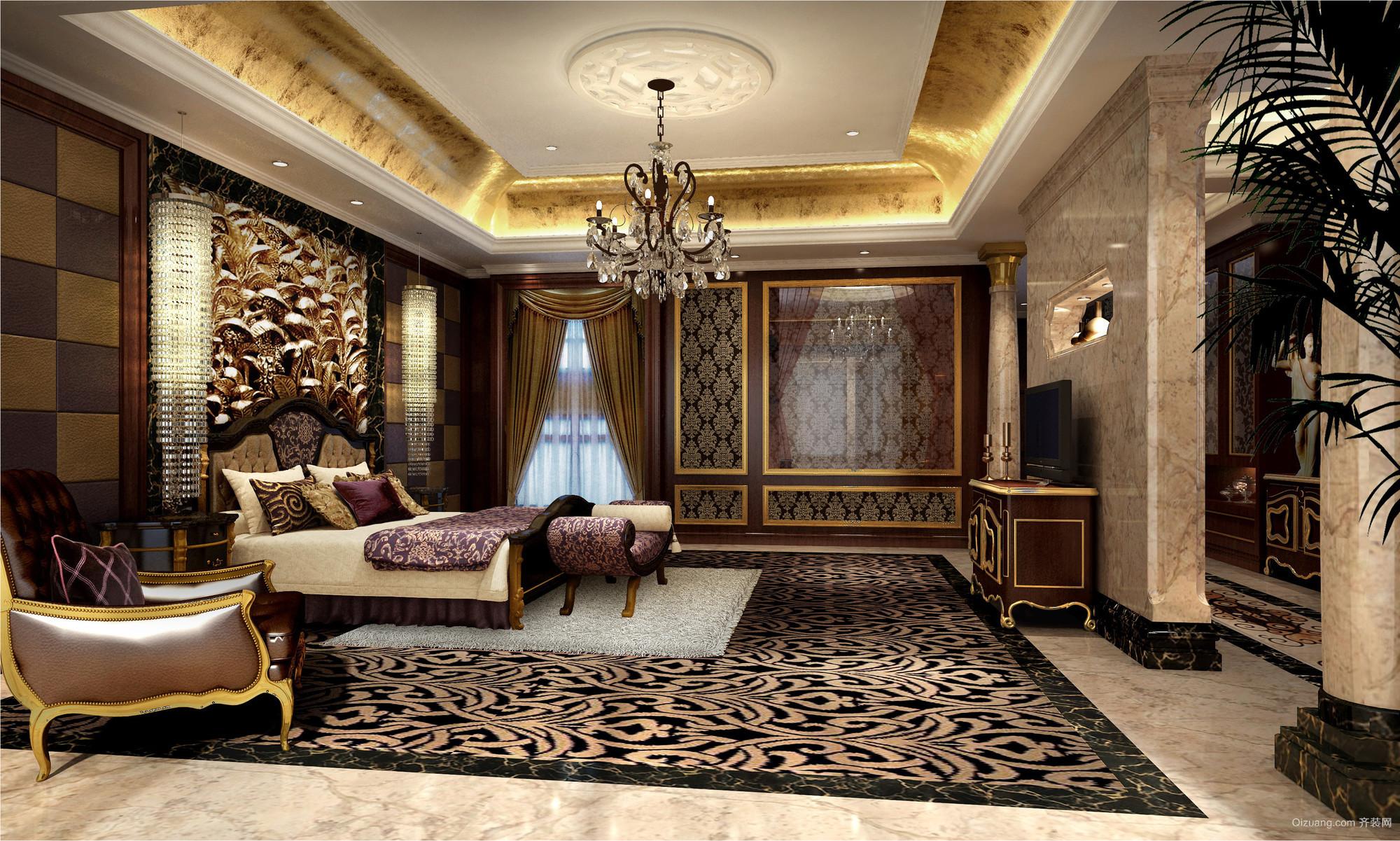南山紫园欧式风格装修效果图实景图