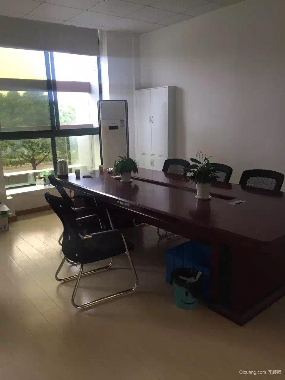 康庄南路,开发商办公室中式风格装修效果图实景图