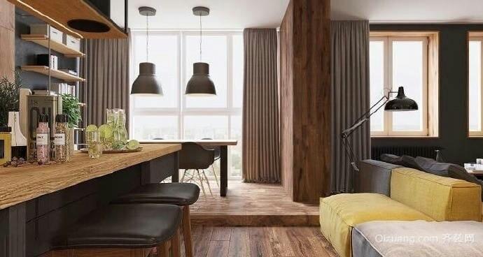106平米普通户型美式家装房间装修图片设计-武上下设计铺风格图片