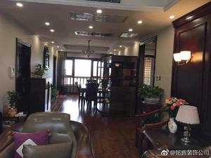 汉中145㎡中式风格装修效果图