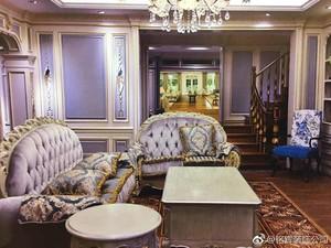 汉中120㎡欧式风格装修效果图