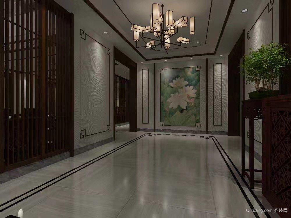 尚城国际花园中式风格装修效果图实景图