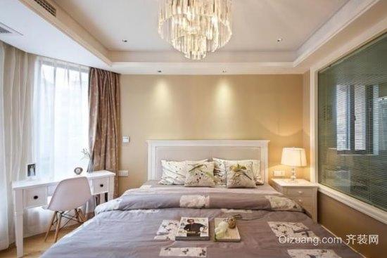 丰泽怡园美式风格装修效果图实景图