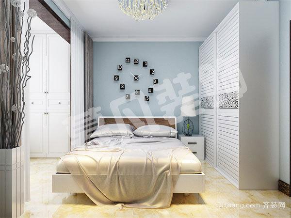 梅花公寓现代简约装修效果图实景图