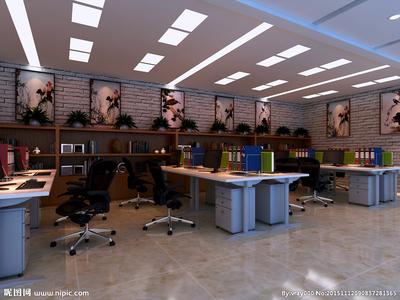 高淳办公室装修装修设计案例