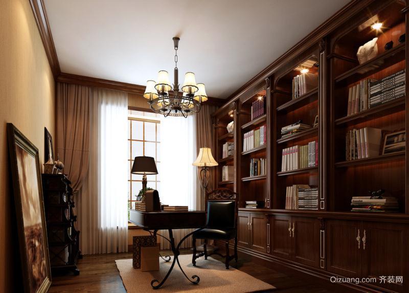 钢城别墅中式风格装修效果图实景图