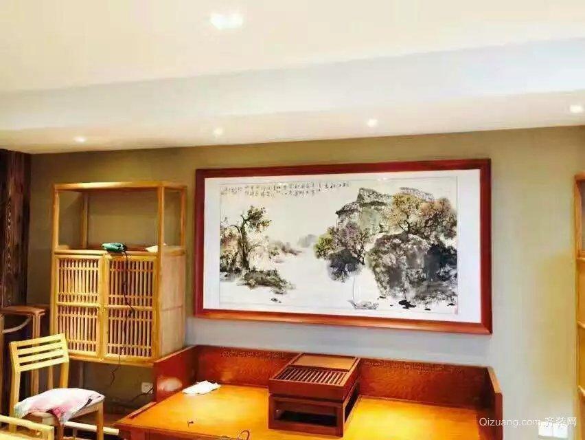 龙湖南苑中式风格装修效果图实景图