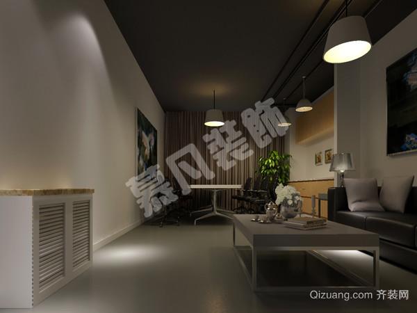 工装:环星办公室装修现代简约装修效果图实景图