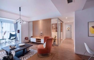 张家口80平米小户型三室一厅 现代风格装修越看越喜欢 装修设计案例