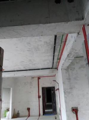 龙兴嘉园2号院水电铺排