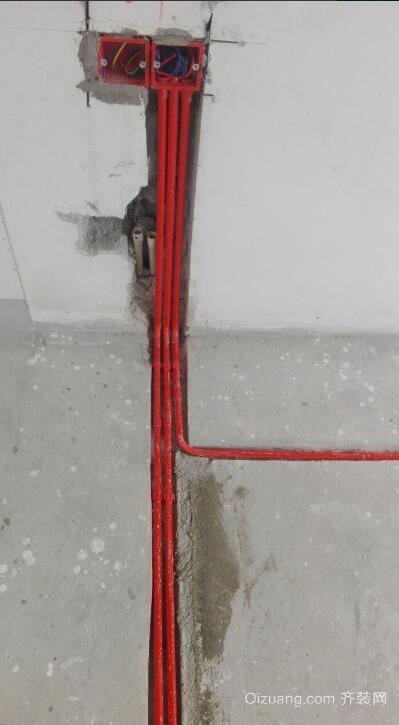 龙兴嘉园2号院水电铺排现代简约装修效果图实景图